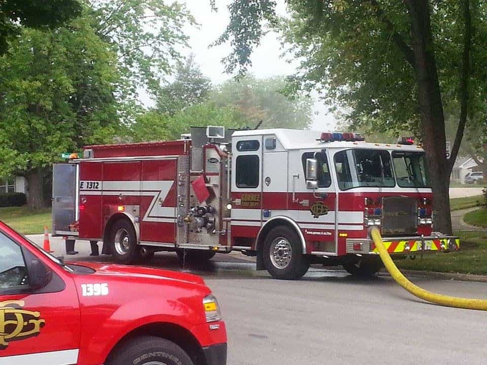 Working Residential Structure Fire on Grandwood Drive in Gurnee