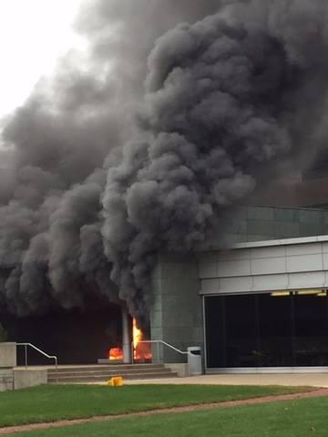 No injuries after fire at W.W. Grainger headquarters in Lake Forest