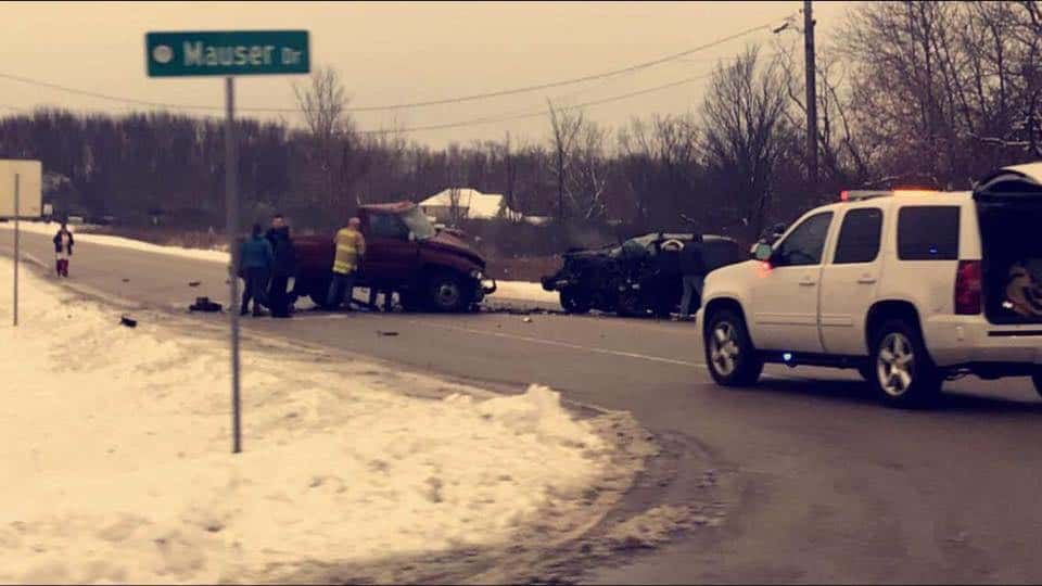 Man killed, another critically injured in Wadsworth crash