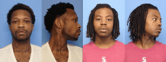 Two charged after armed robberies where shots were fired in Waukegan