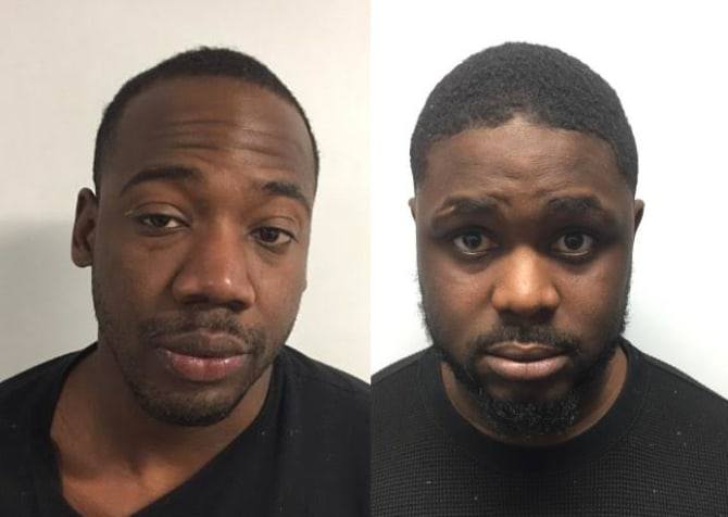 Darius D. Dixon (left) and Jarvis J. Smith | Round Lake Park police