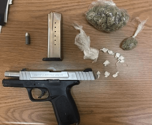 Police recovered a 9mm semi-automatic handgun, 15 grams of crack cocaine and 25 grams of cannabis after suspects led officers on a pursuit Friday night in Round Lake Park. | Round Lake Park police