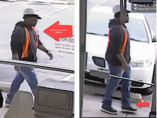 Police release photos of suspect in Waukegan Metro PCS robbery