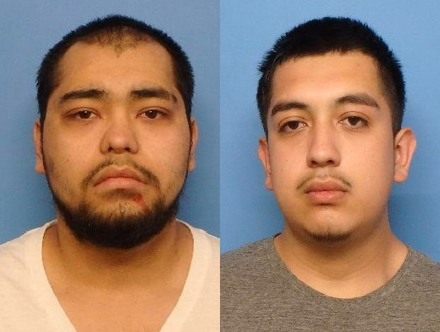 Victor Zuluaga (left) and Axl Ramos Ruiz   Waukegan police