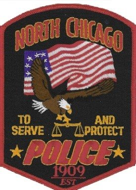 Stock photo of North Chicago Police Department patch.