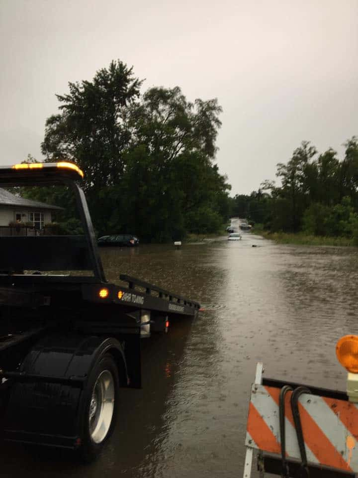 Photo posted on Lake & McHenry County Scanner Facebook page by Lonnie Reeves near Round Lake Beach.