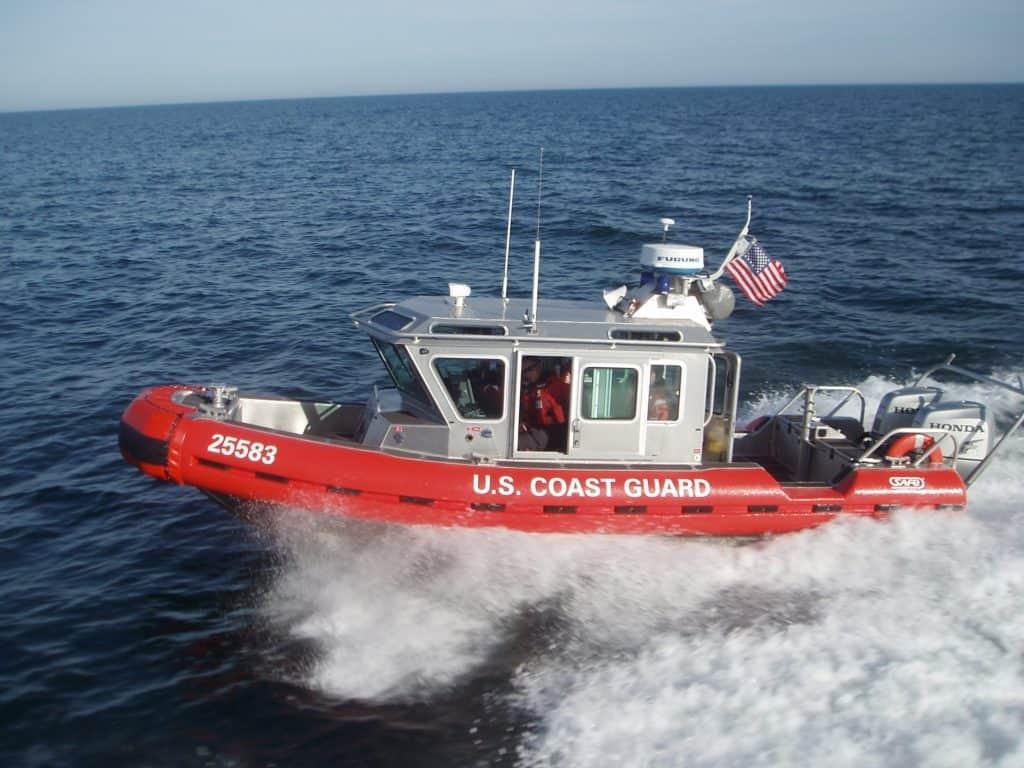 Fishermen rescued by Coast Guard on Lake Michigan near Waukegan