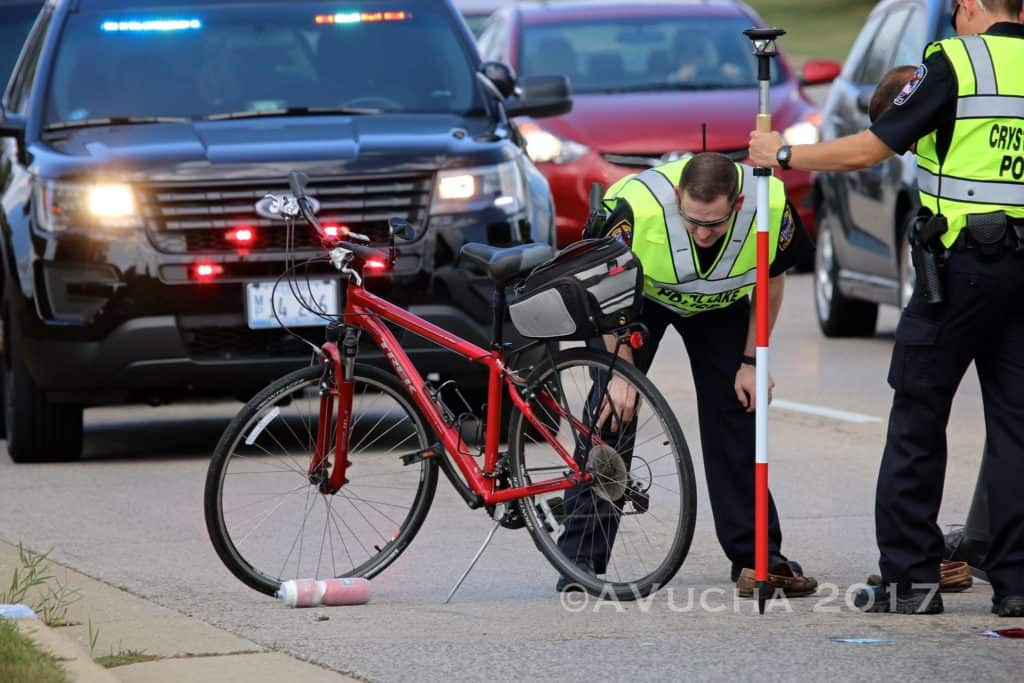 Elderly man on bicycle seriously injured after reported hit-and-run in Crystal Lake