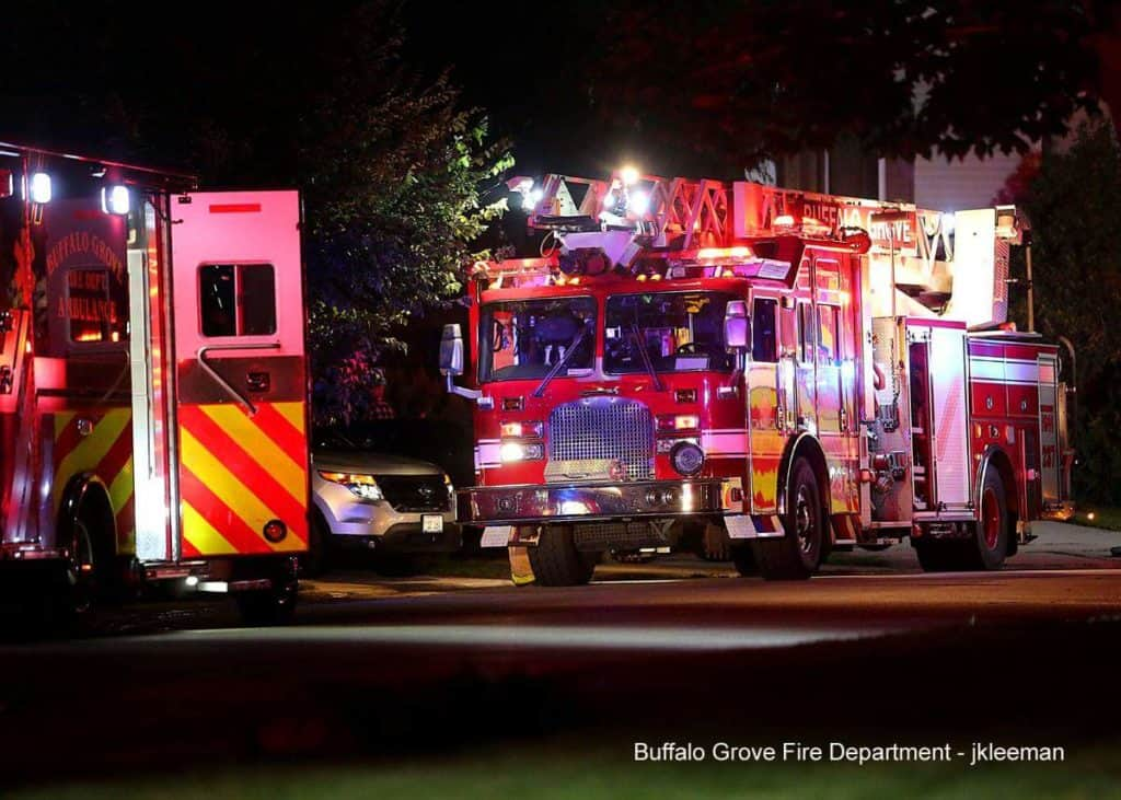 Two injured after Buffalo Grove house fire