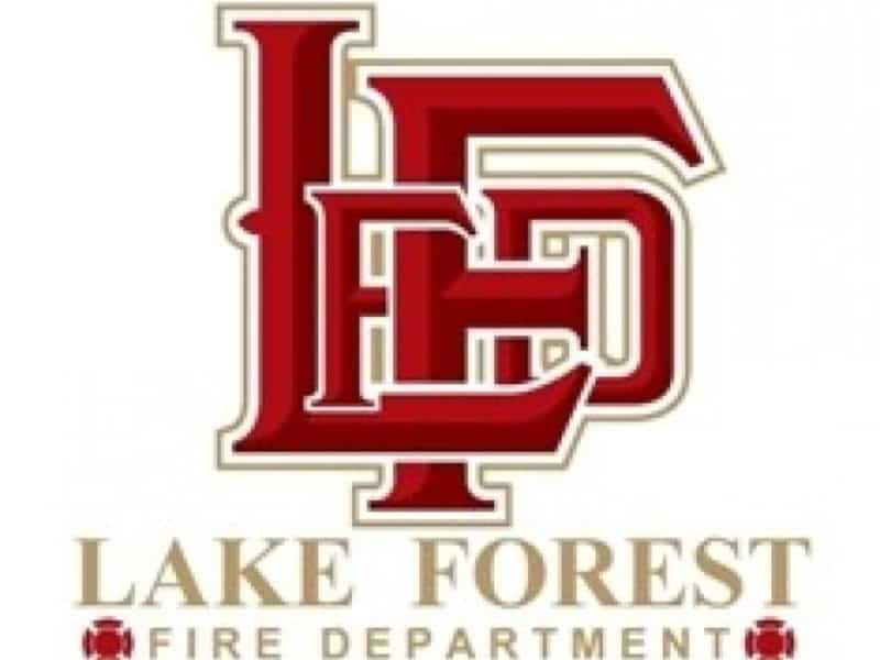 Residents escape house fire overnight in Lake Forest
