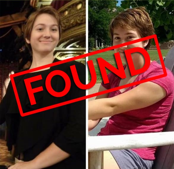 Skylar Wickersty, 16, of Crystal Lake has been found safely by police.
