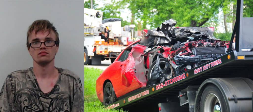 22-year-old man charged after 100 mph high-speed police chase, crash in Volo