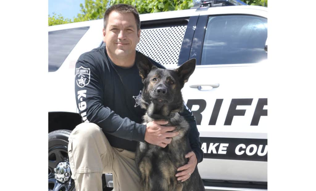 K-9 helps find missing suicidal man near Barrington