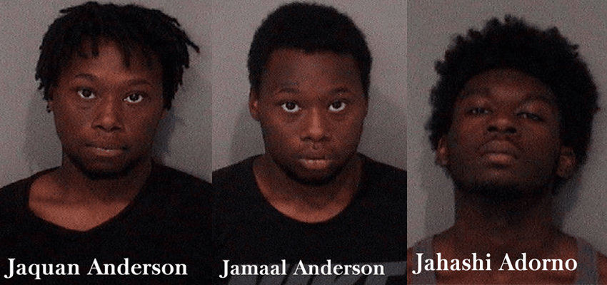 Charges filed against the three suspects captured following armed robbery, manhunt in Lincolnshire