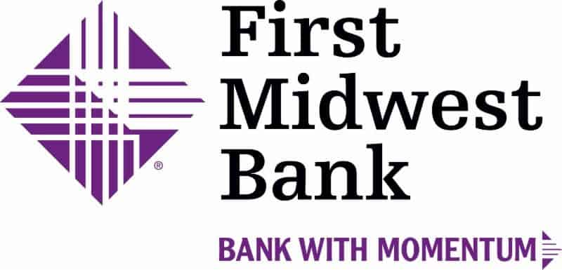 The First Midwest Bank at 3303 Sheridan Road in Zion was robbed Wednesday afternoon, officials said.