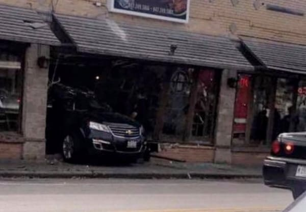 VIDEO: 9 injured, including 3 critically, after car smashes through restaurant in Waukegan