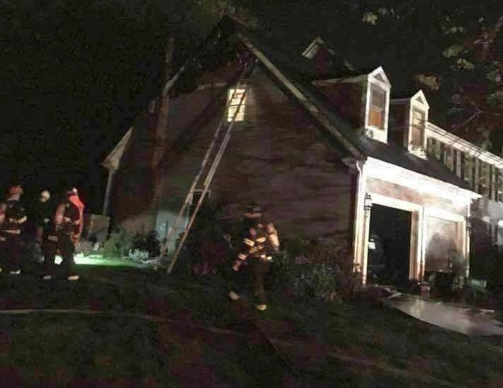 Person injured after lightning causes Hawthorn Woods house fire