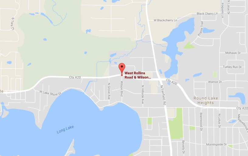 The crash happened near Rollins Road and Wilson Boulevard in Ingleside