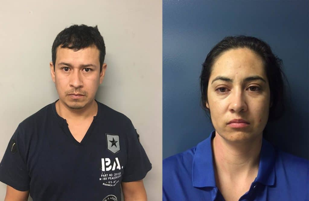 Jose Avila-Zumadio, 32, of Guadalajara, Mexico and Maria T. Villa-Mauleon, 30, of the 400 block of Meadow Green in Round Lake Beach