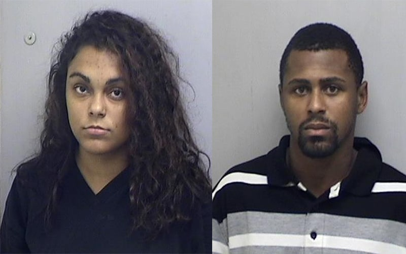 Two arrested after gun, cocaine recovered during search warrant in Zion