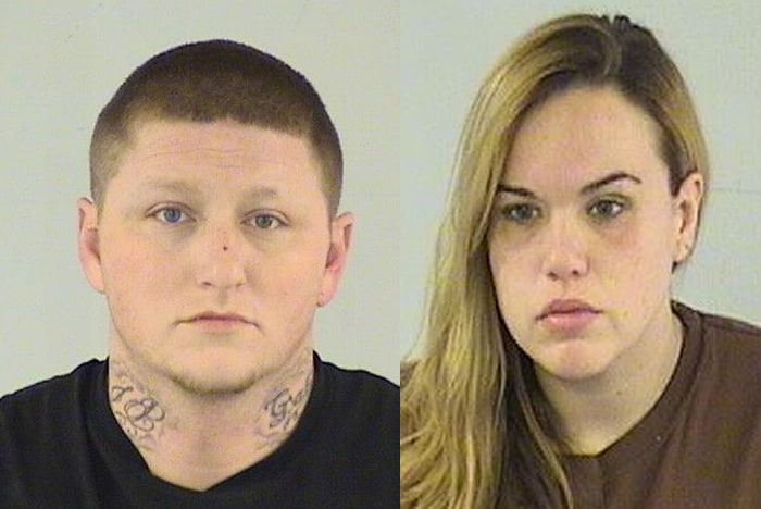 Jason R. Haines, 31, of Antioch (left) and Holly C. Van Crey, 26, of Antioch (right)