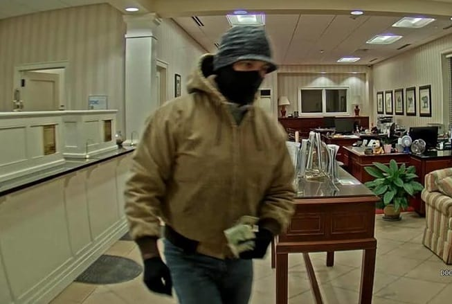 Deerfield police identify bank robbery suspect