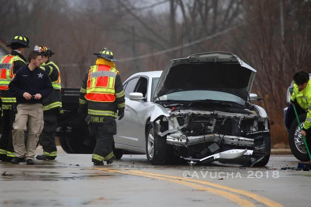 Man cited after crash involving unmarked McHenry police car