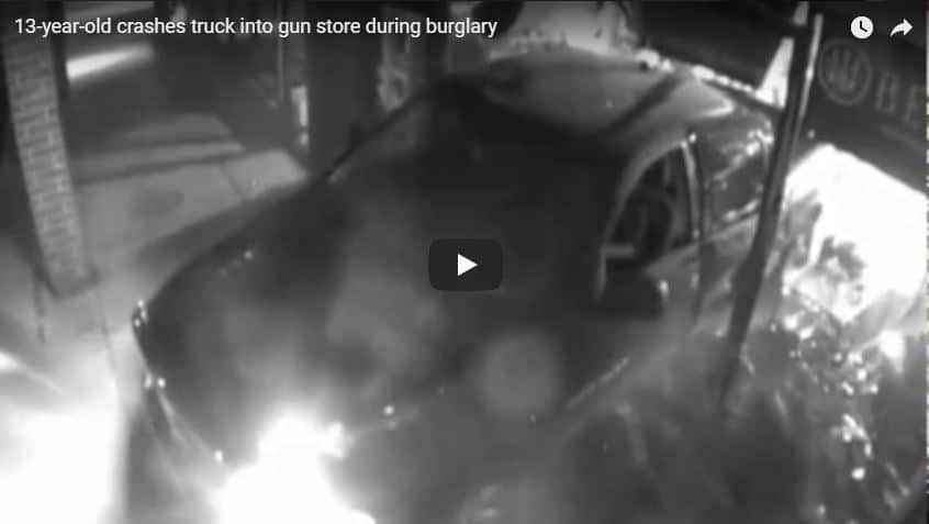 WATCH: 13-year-old charged in 2016 gun store crash-and-grab in Libertyville