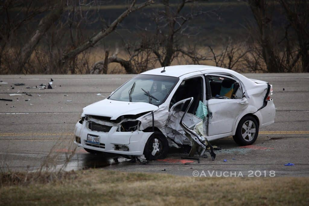 Two critically injured following Crystal Lake crash