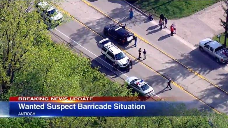 Two in custody following Antioch barricade situation
