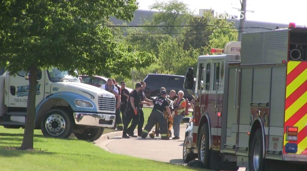 Coroner: Man who died after driving into pond had medical event prior to crash