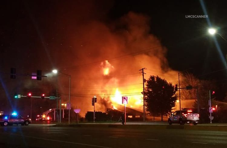 Vacant Hackney's restaurant in Lake Zurich burns to ground in massive fire