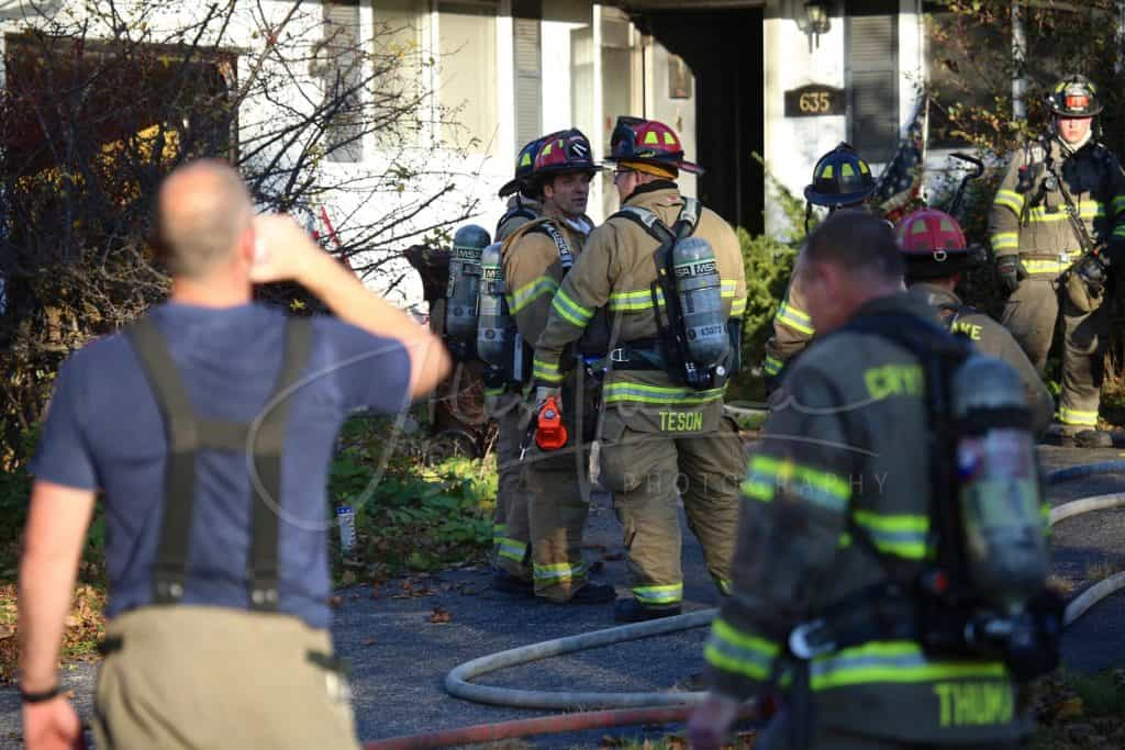 3 people, dog injured after Crystal Lake house fire