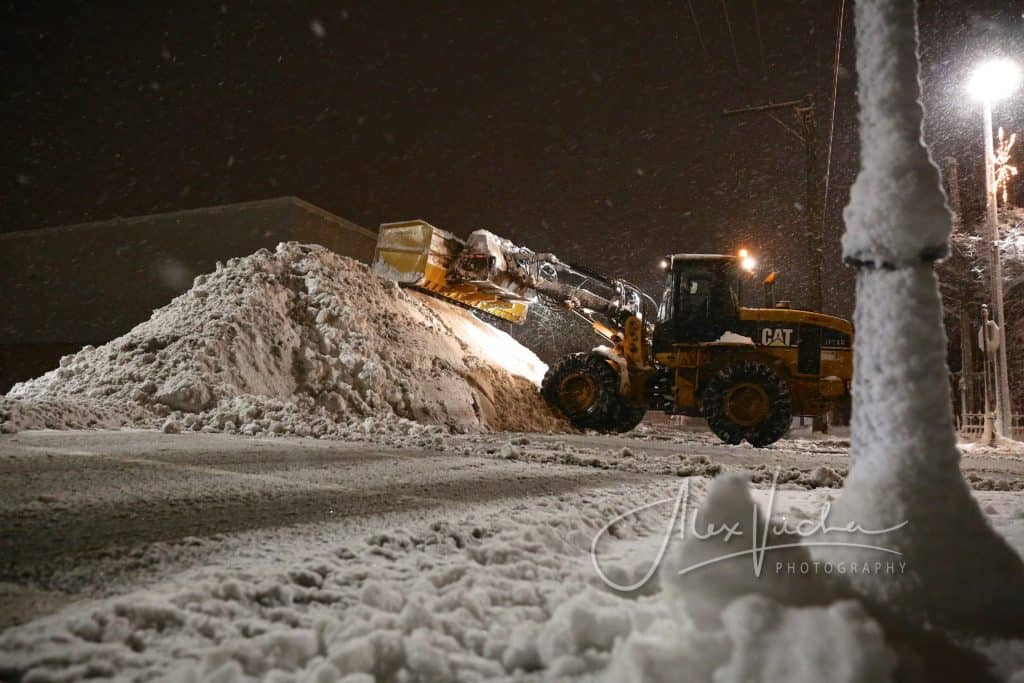 PHOTOS: Blizzard moves through Lake and McHenry counties