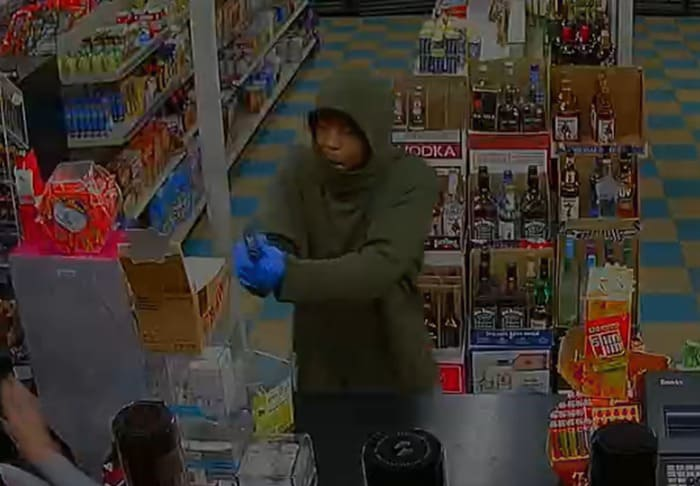 Police searching for man who robbed two businesses in Third Lake