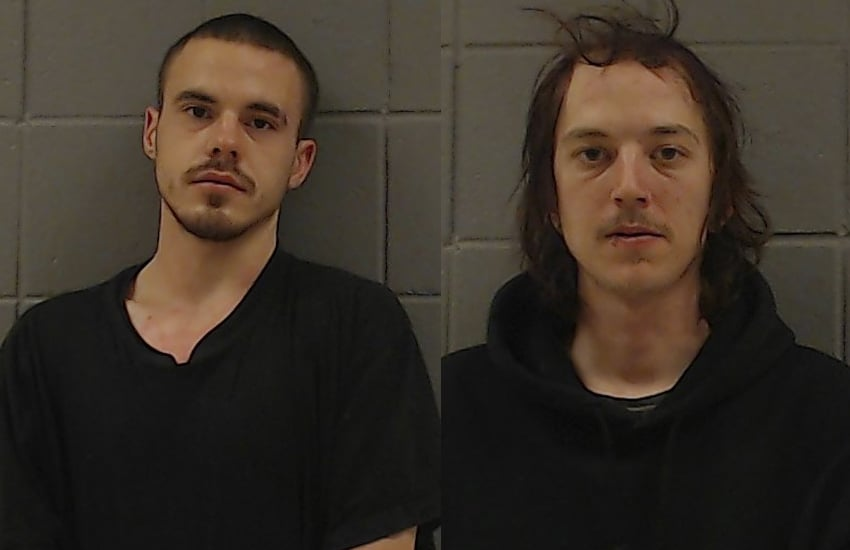 Two arrested for burglarizing church, business in Woodstock