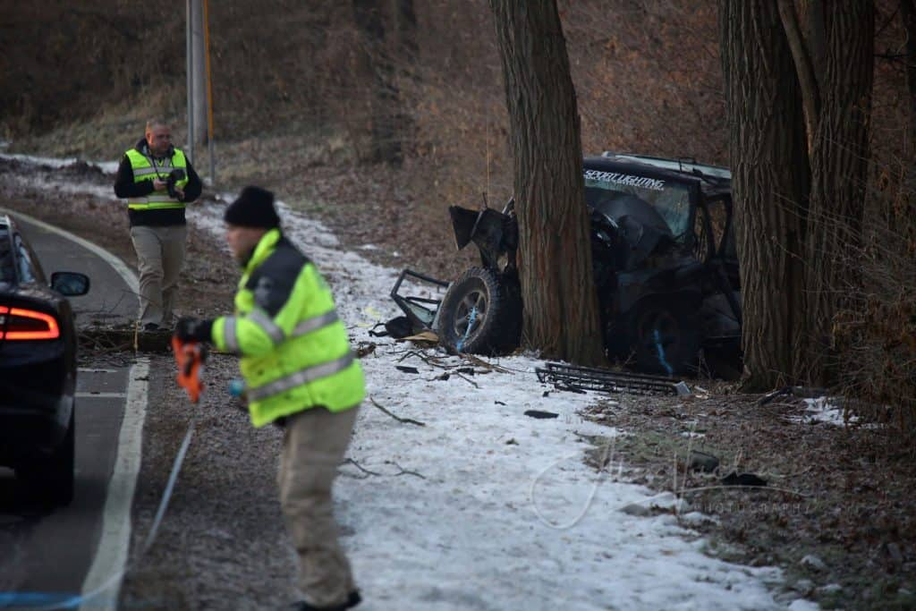 Coroner identifies 3 young Woodstock men killed in crash