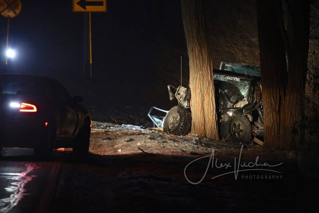 3 dead after car hits tree in unincorporated Woodstock