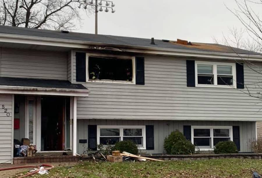 Christmas morning fire leaves Wauconda home uninhabitable