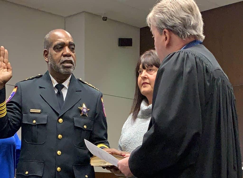 John Idleburg sworn in as new Lake County sheriff
