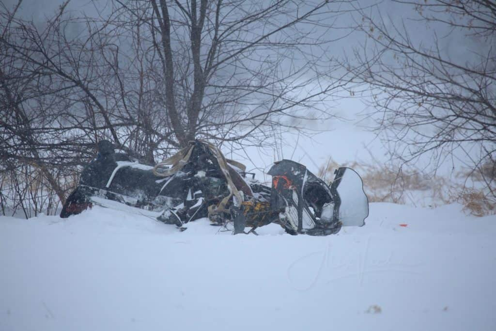 Coroner releases autopsy results in fatal snowmobile crash near Harvard