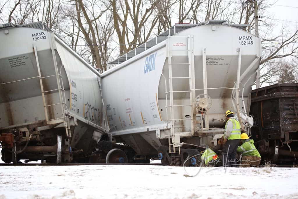 13 freight train cars derail in Spring Grove; no injuries reported