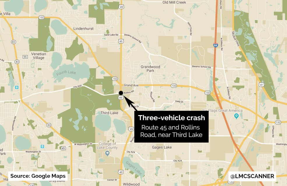 Victim 'beyond lucky' after surviving being ejected from vehicle during crash near Third Lake