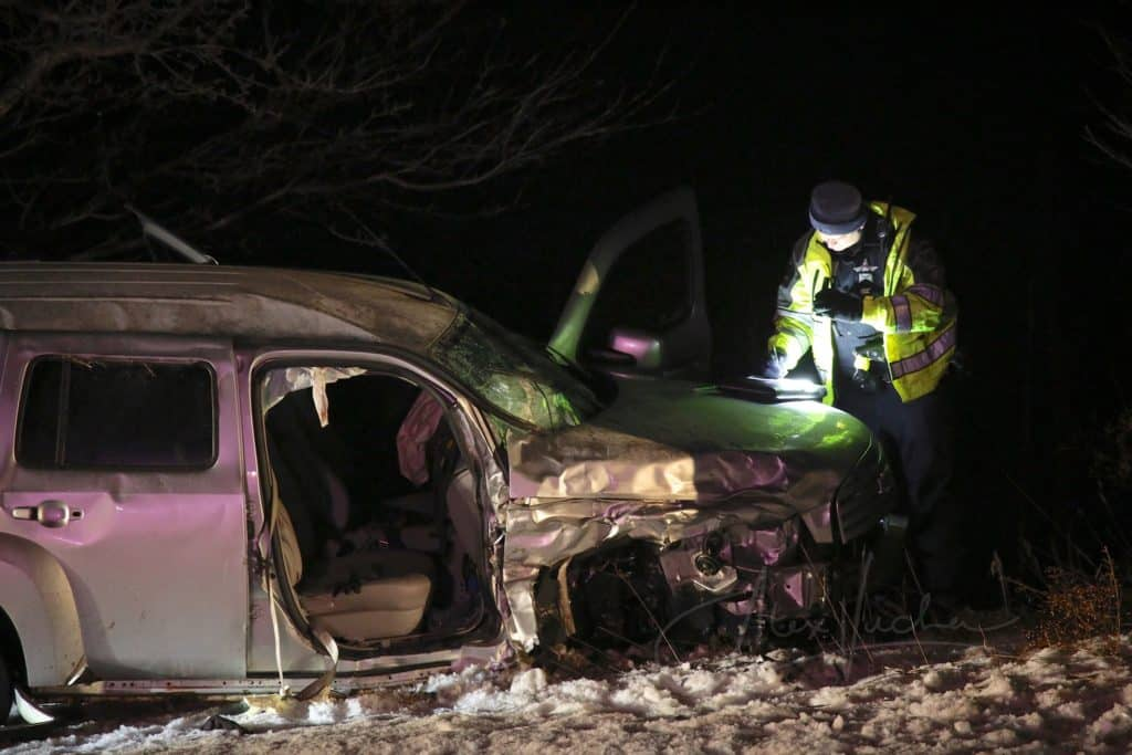 Elderly woman critically injured in crash near Hartland Township