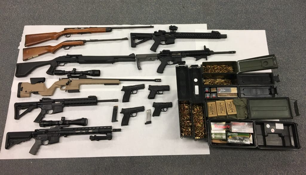 Lakemoor felon arrested for obtaining 15 guns after falsifying FOID application