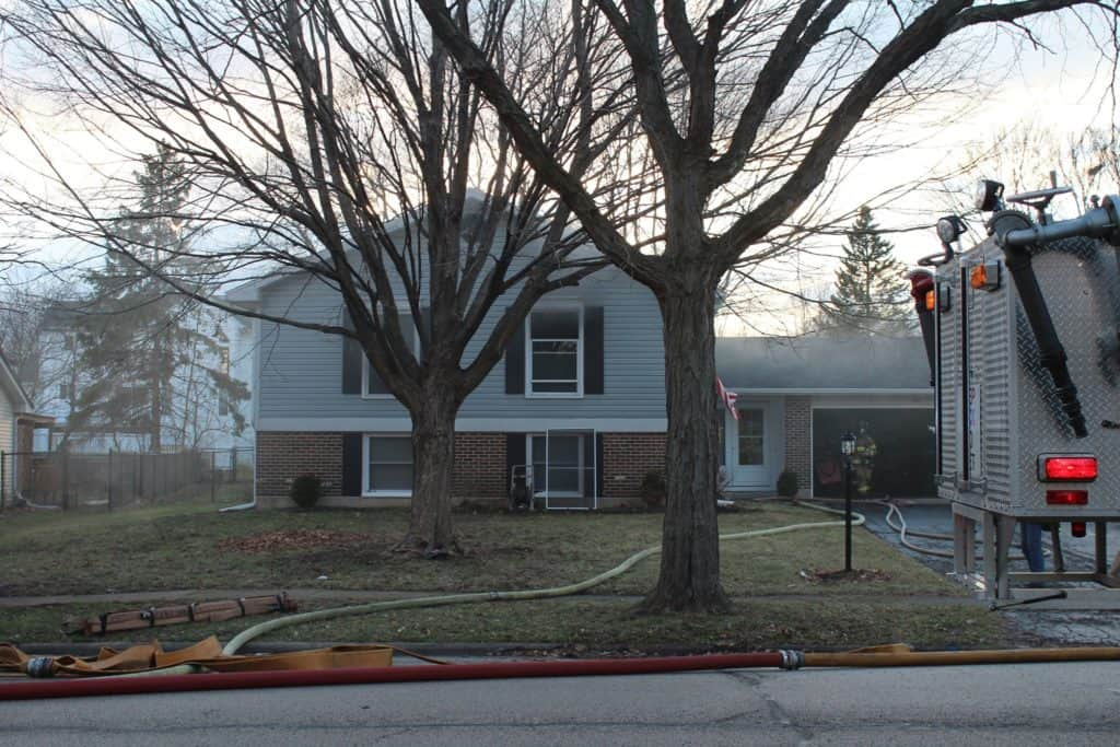 Cary home uninhabitable after kitchen fire