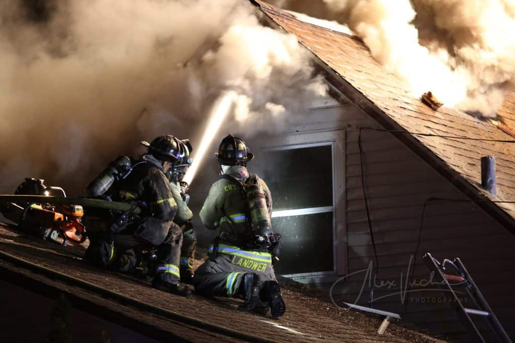 Woman escapes extra-alarm fire that destroyed Crystal Lake home