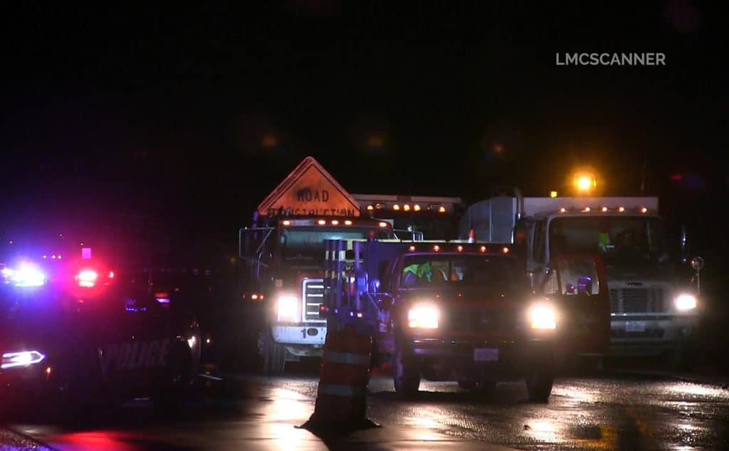 Construction worker struck and killed on Route 41 in Lake Forest