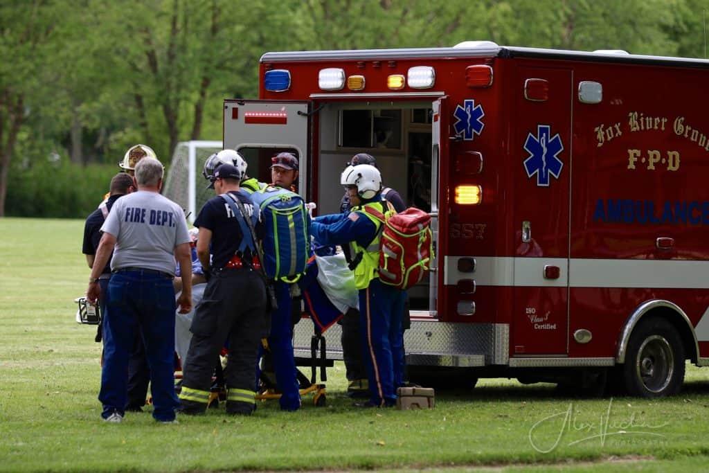 Motorcyclist dies after crash involving car in Fox River