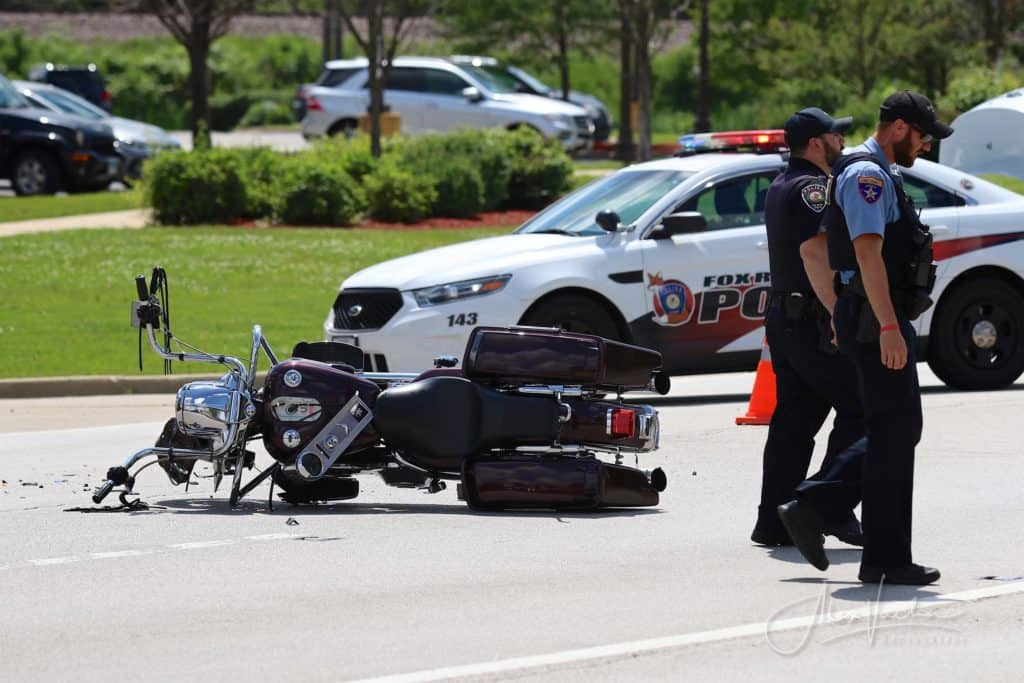 Motorcyclist dies after crash involving car in Fox River Grove